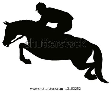 Eventing Horse Silhouette Eventing Horse Silhouette Show