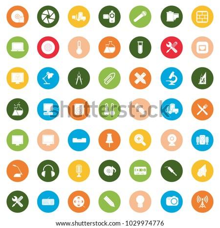 Equipment Icons set