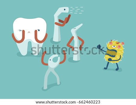 equipment of dental fight