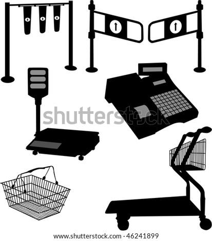 Equipment store-accessories Zdjęcia stock ©