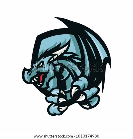 eragon   vector logo icon