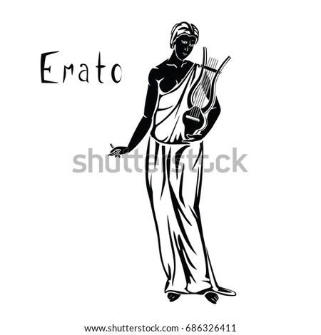 erato the muse of lyric poetry