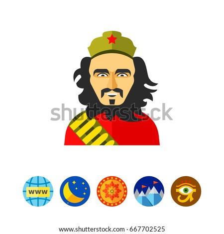 Shutterstock Ernesto Che Guevara icon