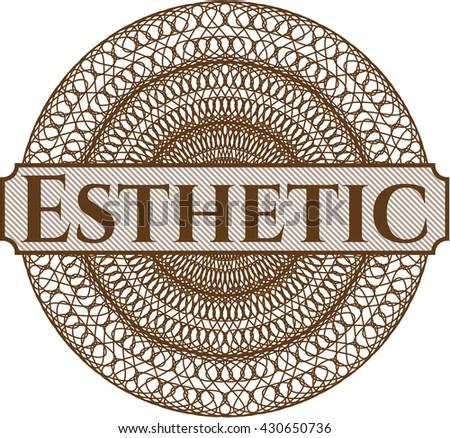 Esthetic linear rosette