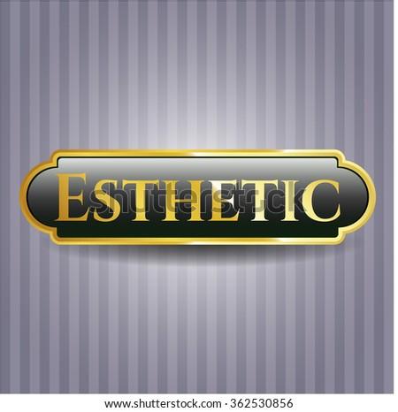 Esthetic shiny badge