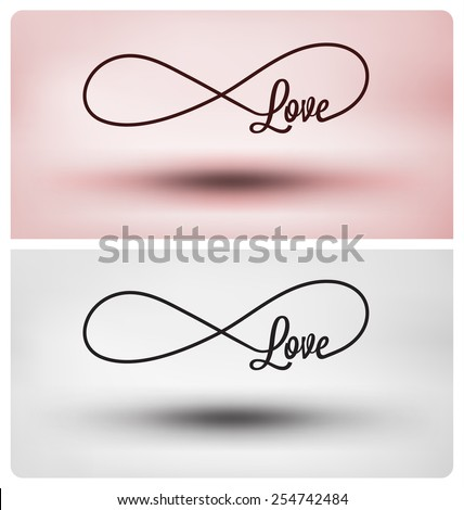 eternal love symbol   infinite
