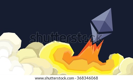 ether launches to the moon