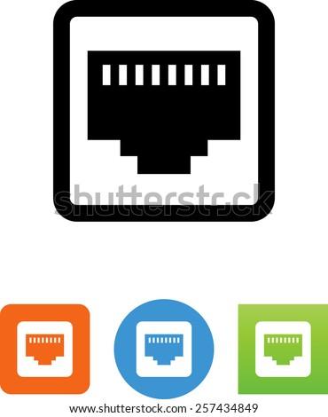 ethernet port icon