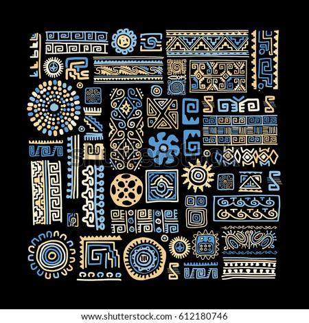 ethnic handmade ornament for