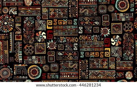 ethnic handmade ornament ...