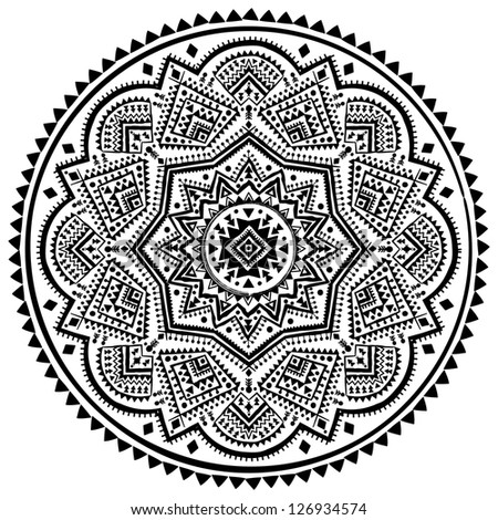 Ethnic ornament