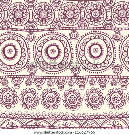 ethnic seamless pattern. Indian ornament, kaleidoscopic flora pattern, mandala. range, circle, round, disk. nice African abstract seamless pattern