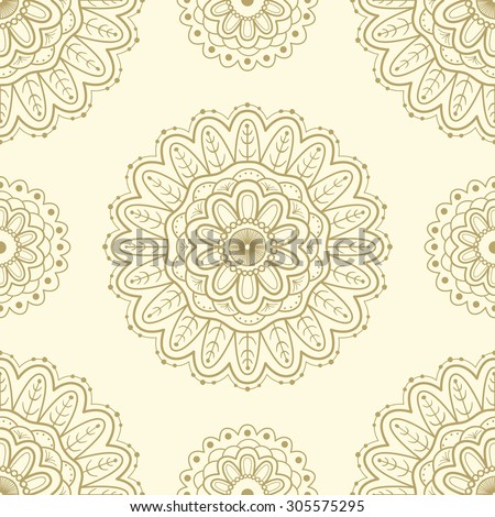 ethnic seamless pattern lace
