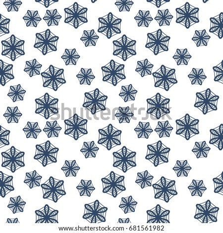ethnic seamless pattern of lace
