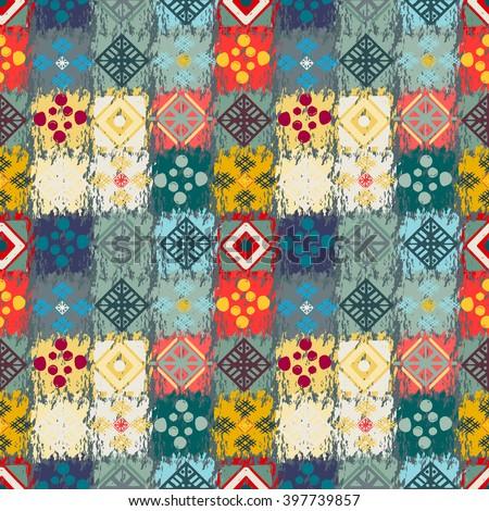 ethnic seamless pattern tribal