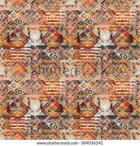 ethnic seamless pattern tribal
