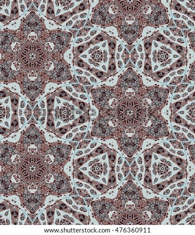 ethnic seamless pattern with