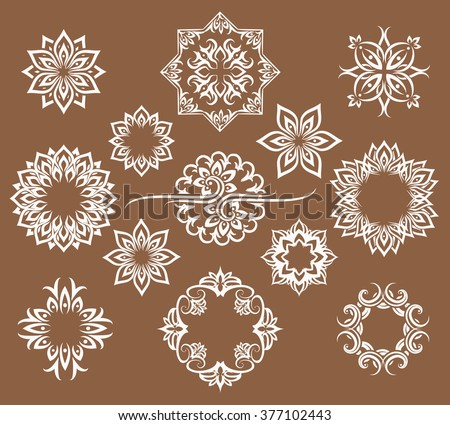 ethnic thai patterns artwork