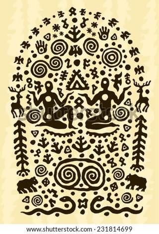 ethnic tribal native