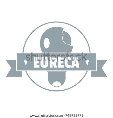 eureka idea logo simple