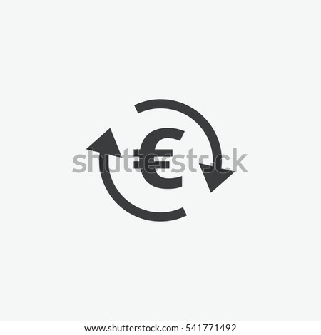 euro money change icon
