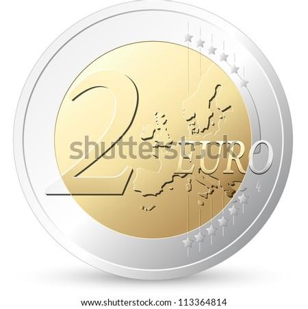 Euro sign 5 - stock vector
