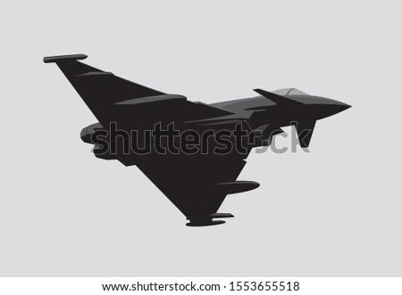 eurofighter typhoon jet