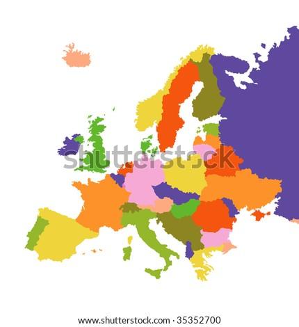 Europa - stock vector