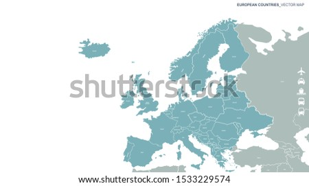 europe map world map europe