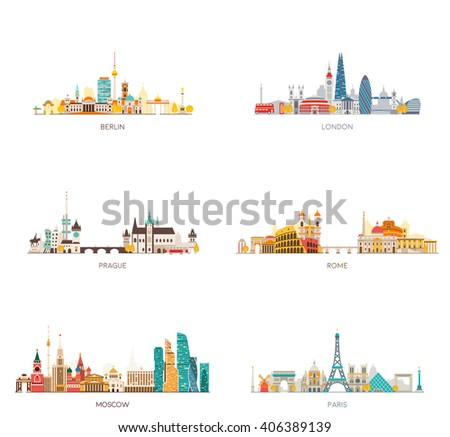 europe skylines set berlin