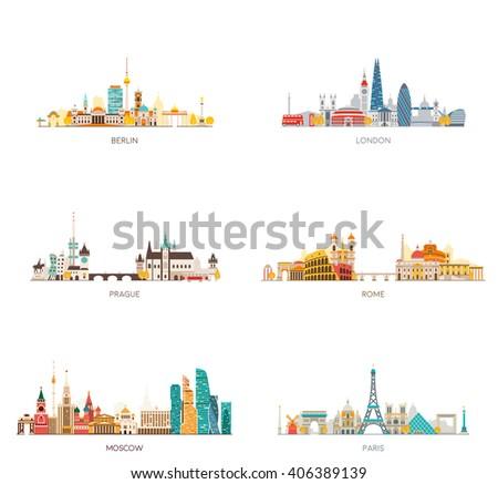 europe skylines set berlin