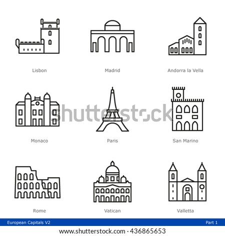 european capitals  part 1