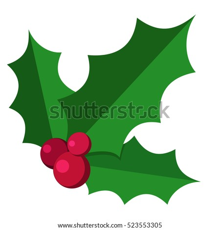 european christmas berry holly
