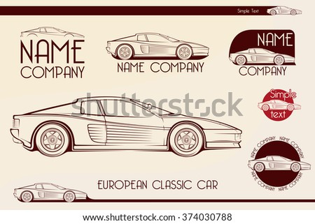european classic sports car