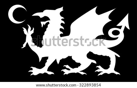 european dragon background