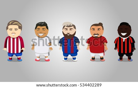 european football players