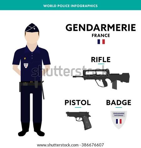 european policeman info graphic
