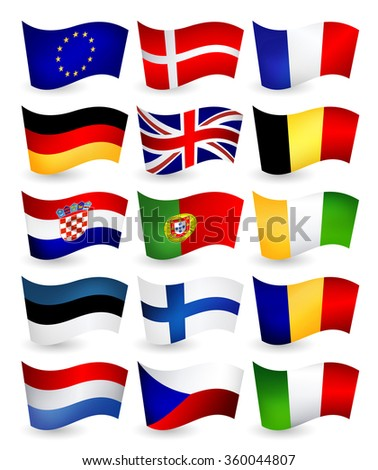 european union country flying