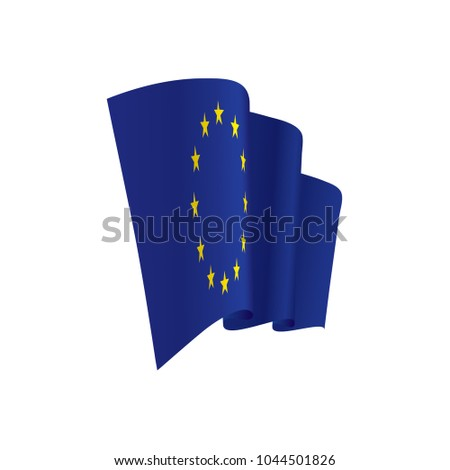 European union flag, vector illustration #1044501826