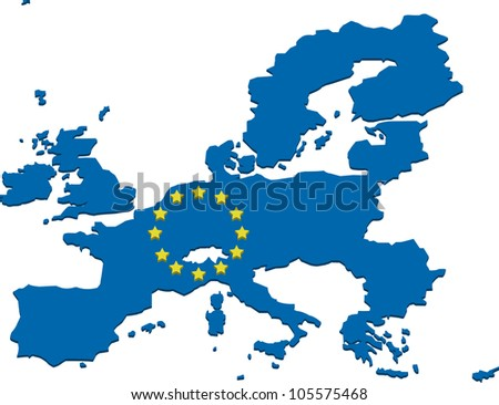 European union map