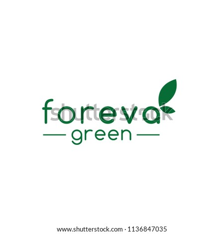 eva green logo design vector