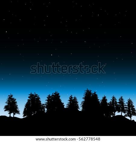 evening contour black and
