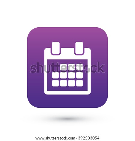 event calendar vector icon