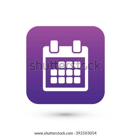 event calendar vector icon