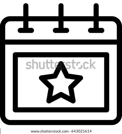 Event Vector Icon