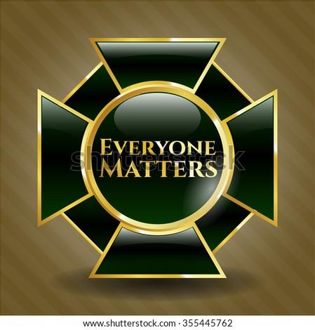 Everyone Matters golden badge