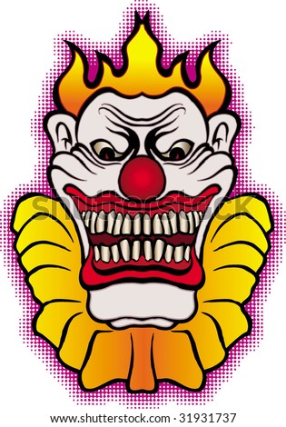 Size:450x470 - 57k: Clown Tattoos