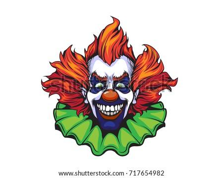 evil clown halloween