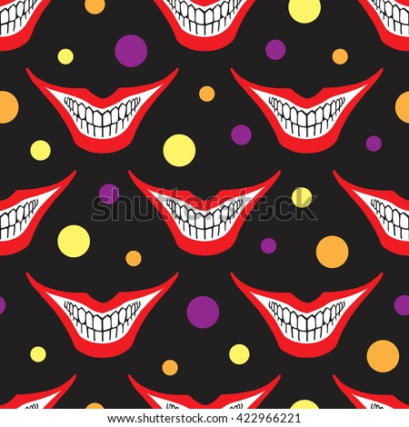 evil clown or playing card