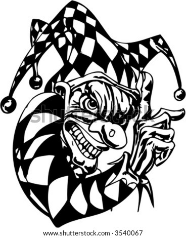 clown tattoo designs. clown-tattoo-back-design
